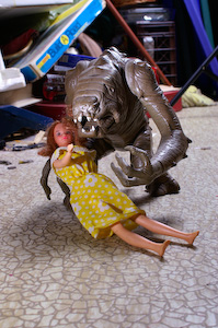 Rancor and Barbie