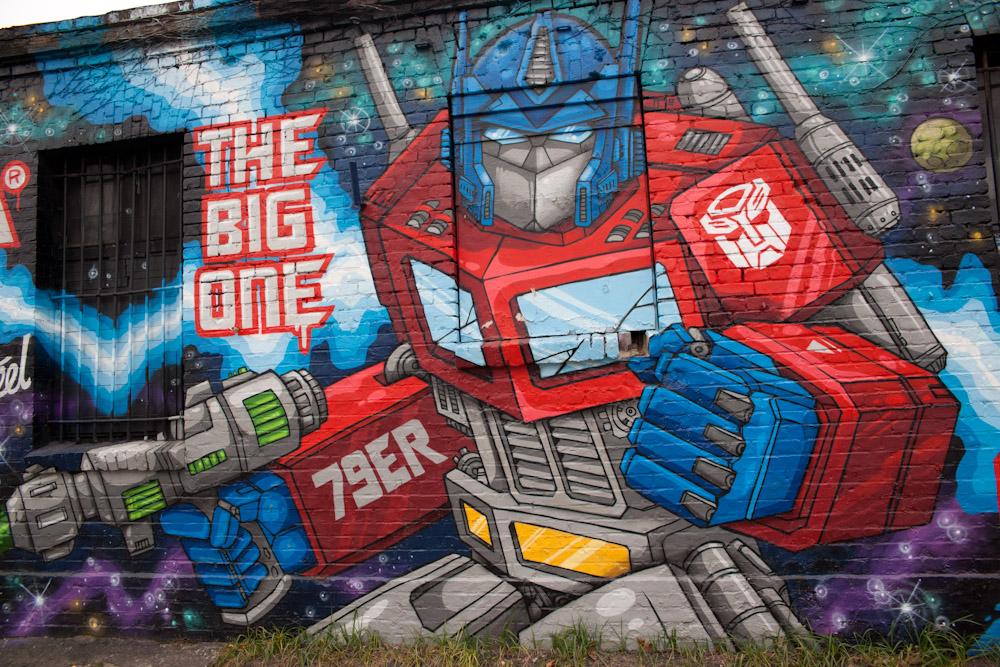 Berlin graffiti american peyote