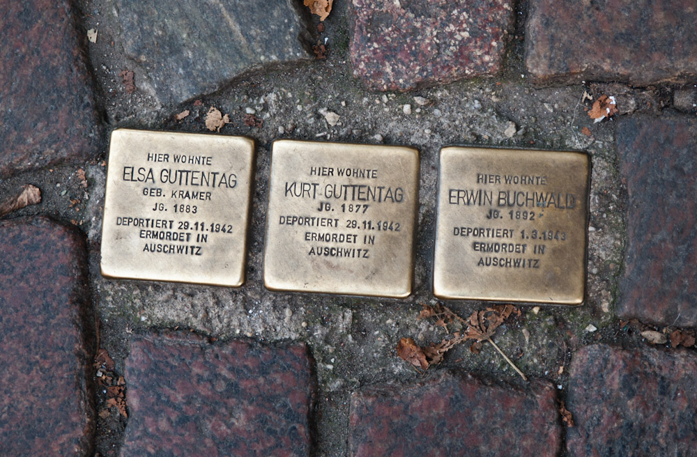 Stolperstein – Location Stories