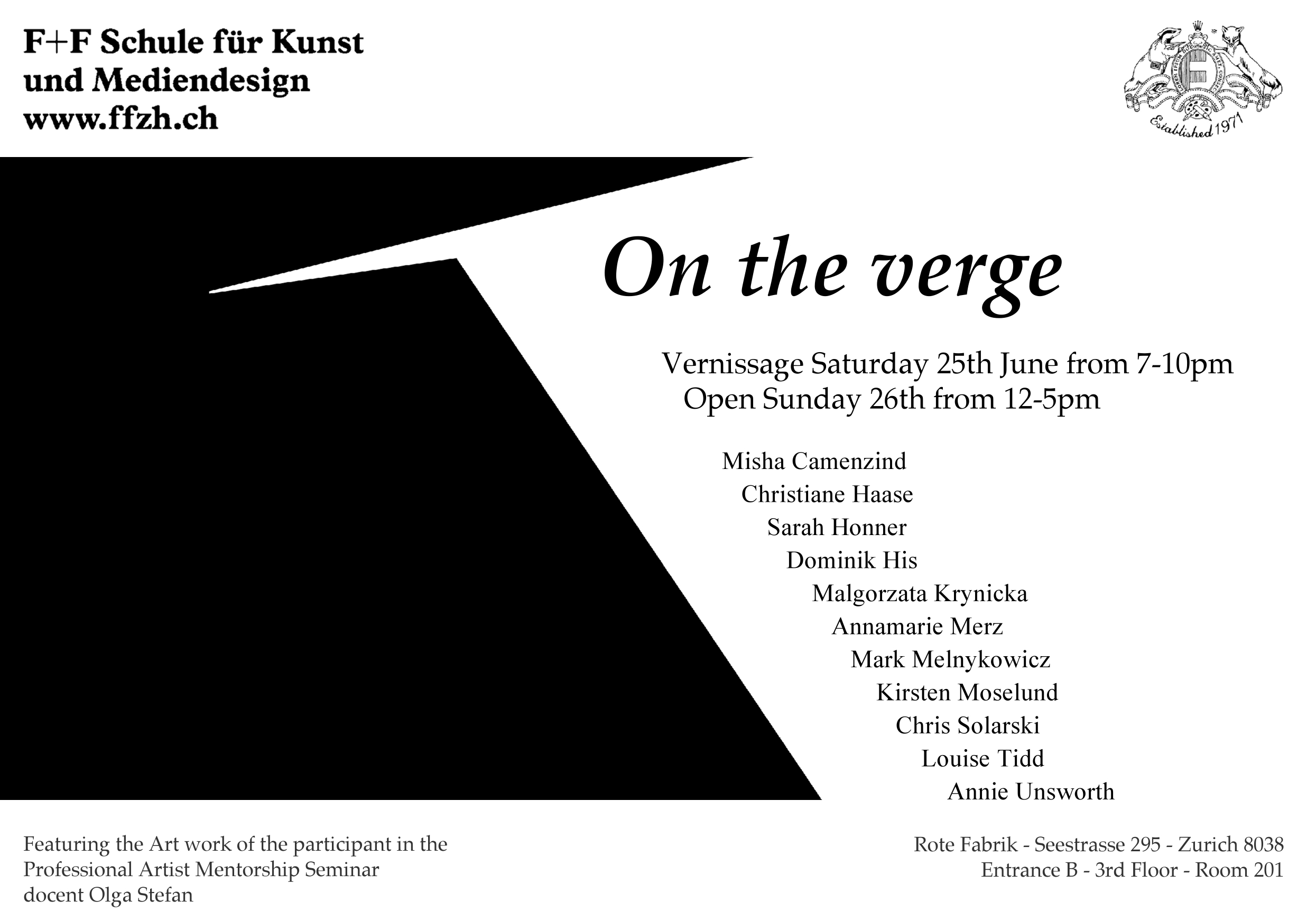 On the Verge Art Show