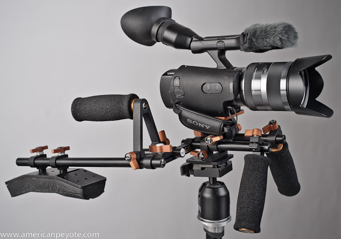 Canon 7d Video Camera Rig. Shoulder mount rig arguably the new camera epic
