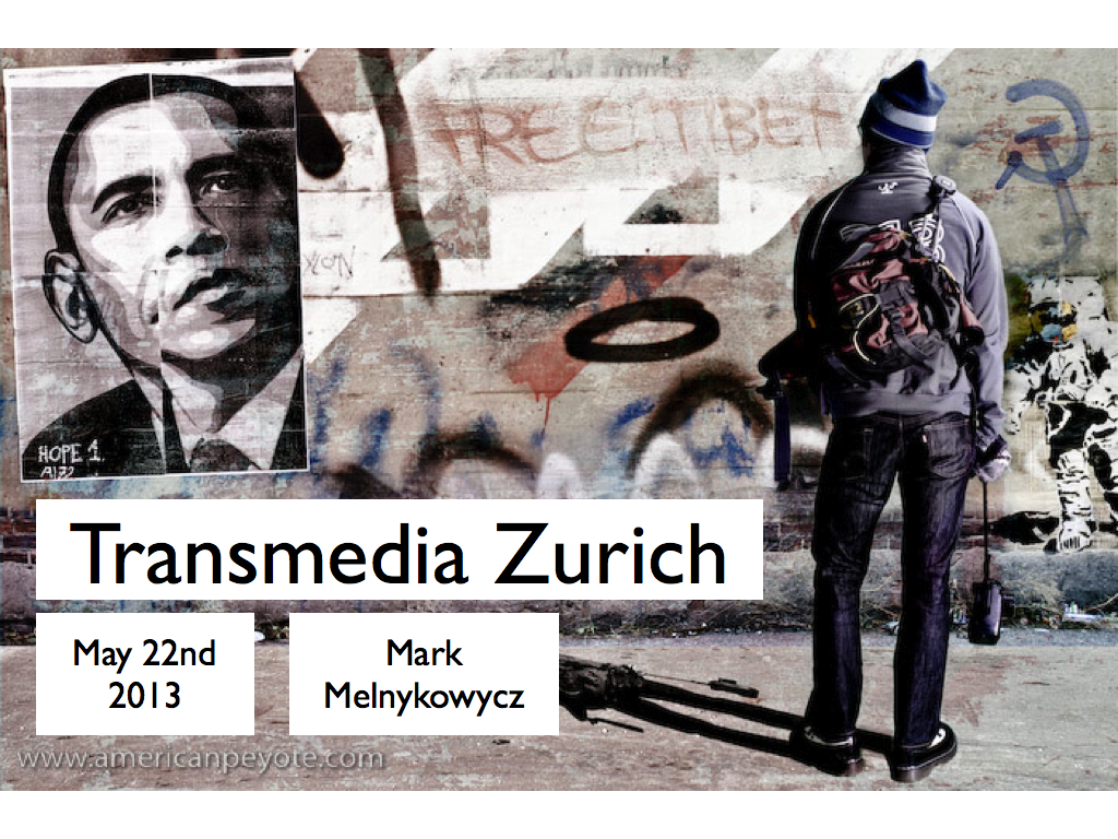 1st Transmedia Zurich Meetup – LA to San Francisco