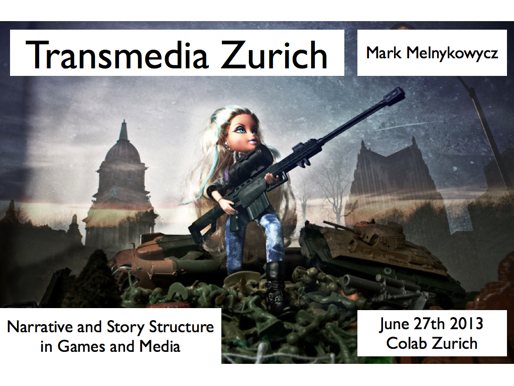 2nd Transmedia Zurich Meetup – Narrative and Story in Games and Media