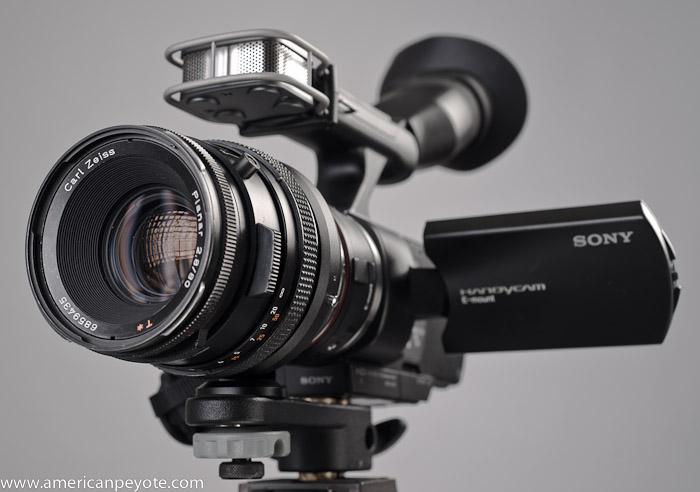 Sony NEX-VG10 Hasselblad